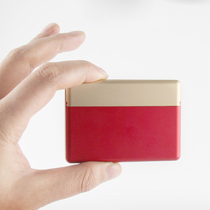 Image 4 - 18 otworów rękaw ochronny papierośnica ze stopu aluminium dla IQOS przechowywanie papierosów pudełko Mental Box