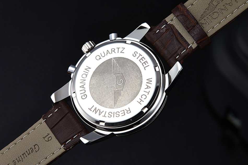 Guanqin 2019 novo relógio masculino topo da