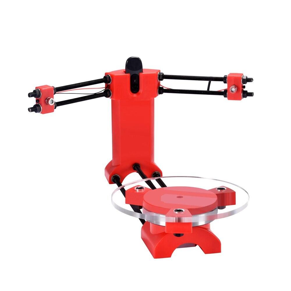 Skaner 3D Ciclop Open Source skaner laserowy DIY pulpit formowanie wtryskowe część z tworzywa sztucznego do drukarki 3D Reprap oprogramowanie prezent