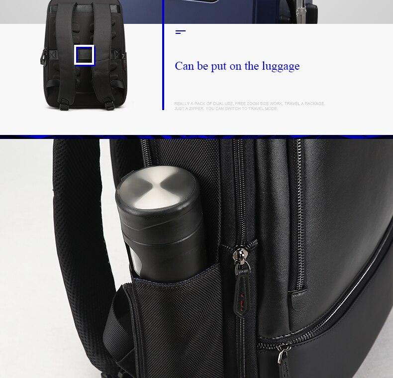 a1ead2011 BOPAI Marca USB Externo Charge Computer Bag Ombros Anti-roubo Notebook  Mochila de 15 polegada Mochila Laptop À Prova D 'Água para Homens