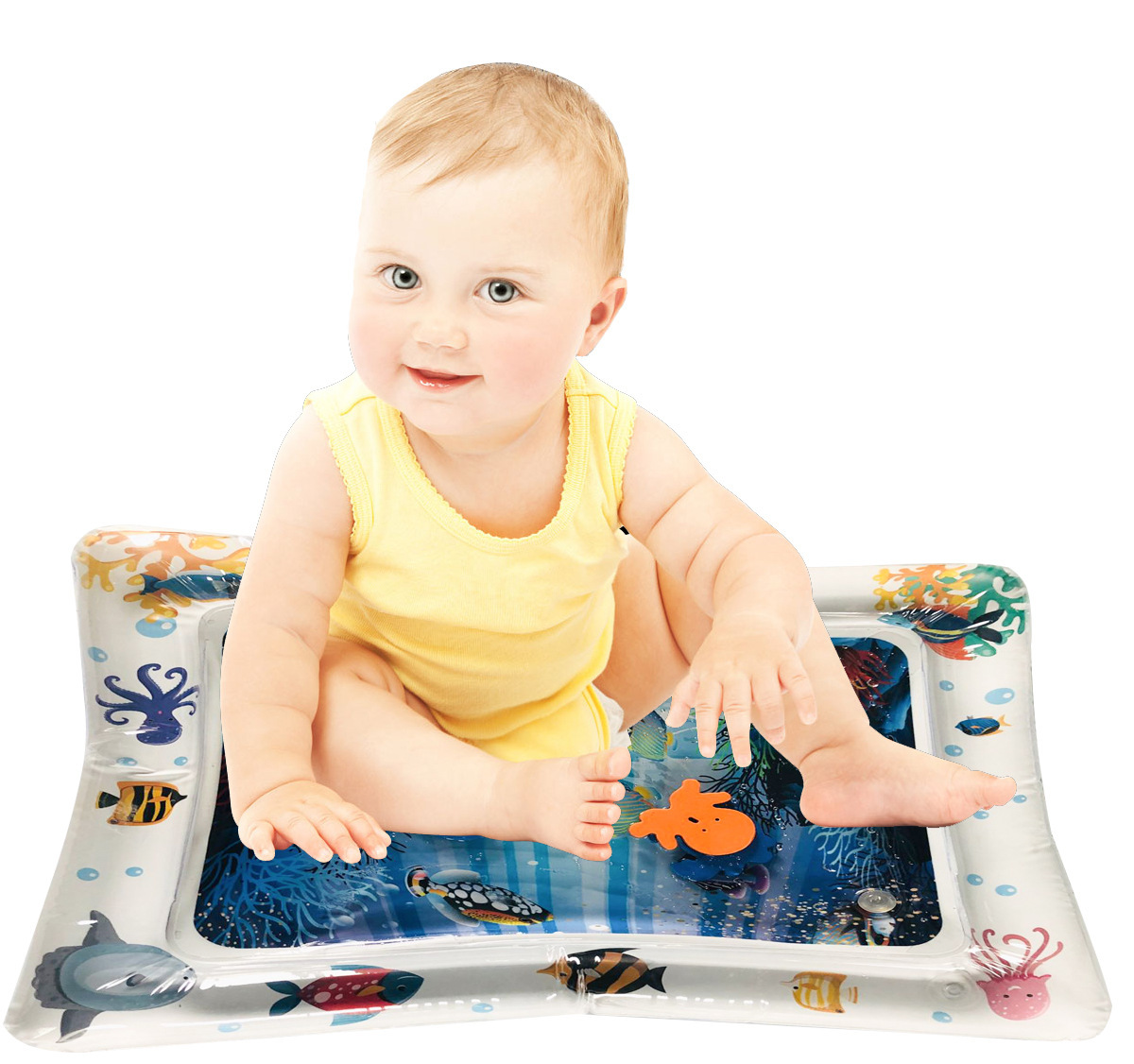 2019 Creative Water Mat Baby Inflatable Patted Pad Baby Inflatable Water Cushion Infant Play Mat Toddler Funny Pat Pad Toys