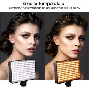 Image 5 - ספאש TL 160S 2 סטים LED וידאו אור 3200K/5600K CRI85 תאורת צילום סטודיו תמונה מנורת פנל LED אורות עבור וידאו לירות