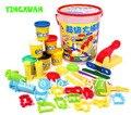 Diy colorido juego de moldes de plastilina play doh molduras herramientas plastilina masa bebé aprendizaje educativo juguetes creatividad kits juguetes clásicos