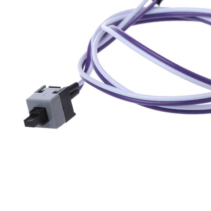 Los komputer stancjonarny stacjonarny ATX zasilanie zasilanie resetowanie kabel złącze przełącznika