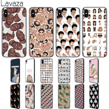 Lavaza Kylie Jenner Kimoji Soft Silicone Case Cover for Apple iPhone 6 6S 7 8 Plus 5 5S SE X XS 11 Pro MAX XR