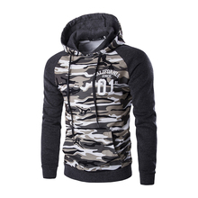 Military Camouflage Pullovers Sweatshirts for Men
