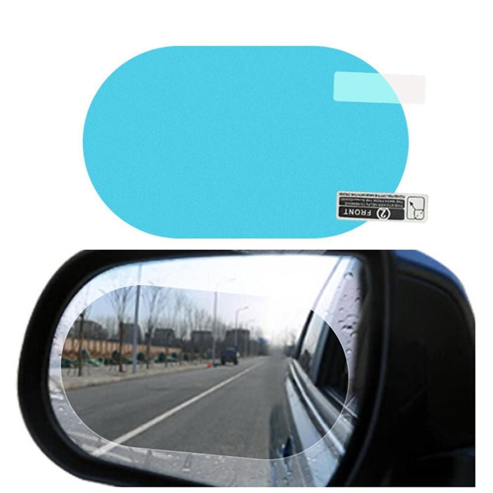 12 Pieces Car Rearview Mirror Film Rainproof Waterproof Mirror Film Anti Fog Nano Coating Car Film for Car Mirrors and Side Windows