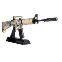 1:3.5 Assemble Metal Toy Gun Model Building Can Not shoot AW