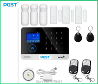 PGST Good Quality 3G GSM WIFI Alarm System 2G WCDMA Home Alarm System With APP Controlled