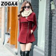 New Europe 2019 Autumn Winter Womens Temperament Woolen Jackets Coats Female Casual Clothing Fashion Women Slim