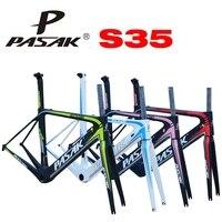 Pasak Bicycle Frame Racing Road Car Pneumatic Carbon Fiber Frame S35 Ultra Light