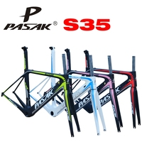 Pasak Bicycle Frame Racing Road Car Pneumatic Carbon Fiber Frame S35 Ultra Light