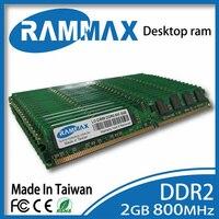 New sealed LO-DIMM 800 Mhz De Bureau Mémoire Ram 2 GB DDR2 PC2-6400 240pin/CL6/1.8 v compatible avec tous les PROCESSEURS AMD/Intel cartes mères de PC