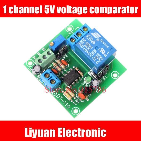 1 Kanal 5 V Spannungskomparator/spannungskomparator Ic Komparator/lm393 Spannung Vergleich Modul
