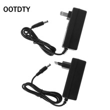 16.8V DC 2A Battery Charger Intelligent Lithium Power Adapter EU US Plug