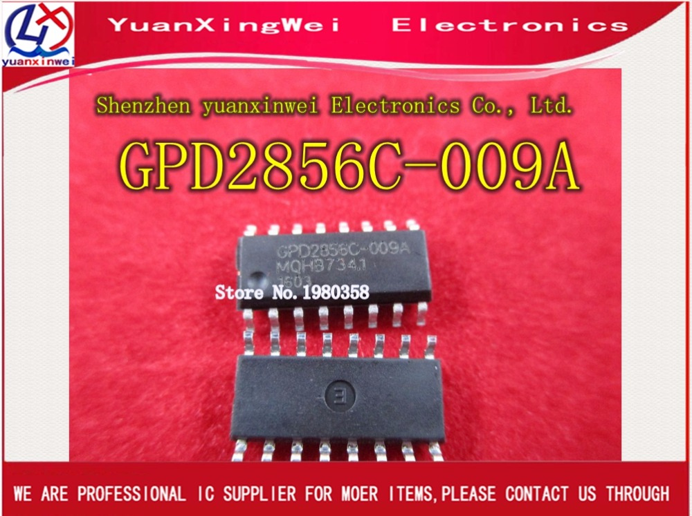 New original spot MP3 decoding chip GPD2856C-009a GPD2856C-009 GPD2856C GPD2856A SOP16