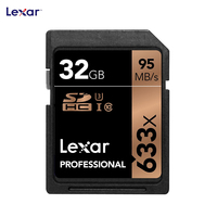 95MB S 633x 16G 32GB SDHC SD Card 64GB 128GB SDXC U3 Class 10 Memory Card