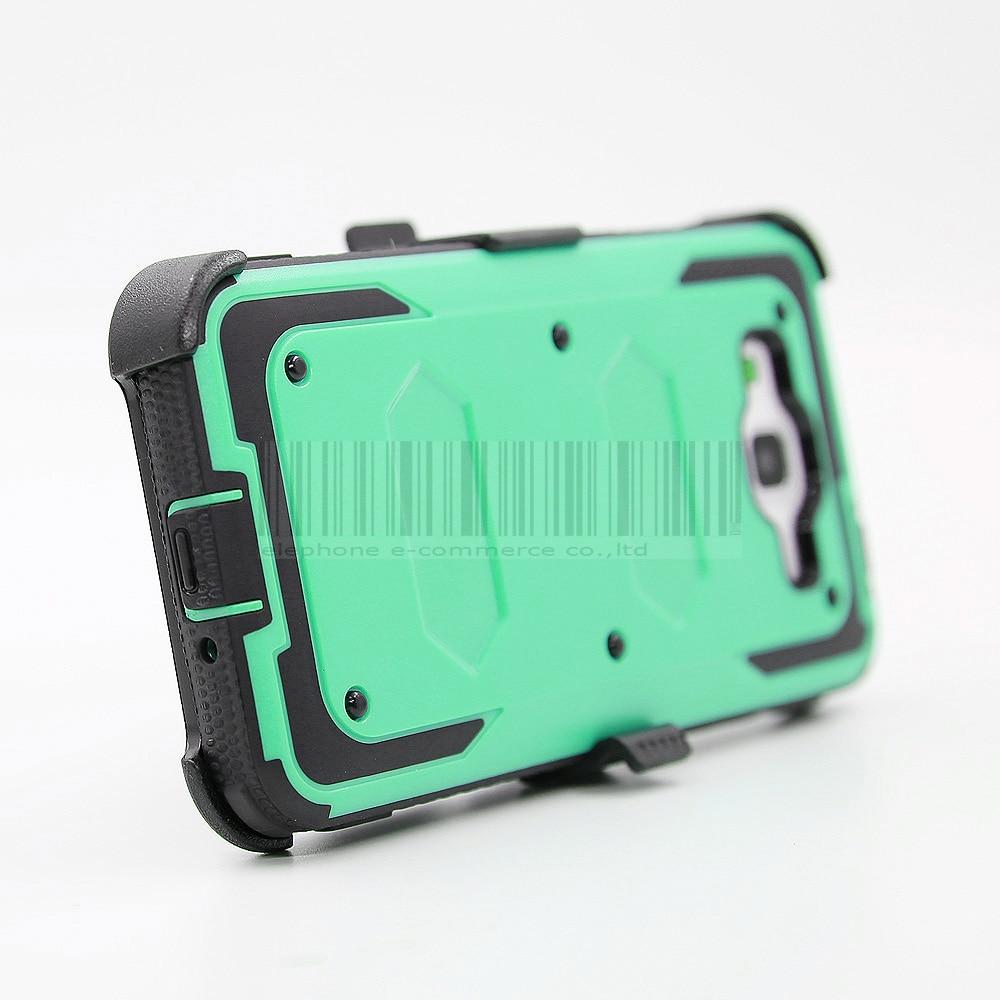Funda de armadura a prueba de golpes resistente con cubierta de clip - Accesorios y repuestos para celulares - foto 6