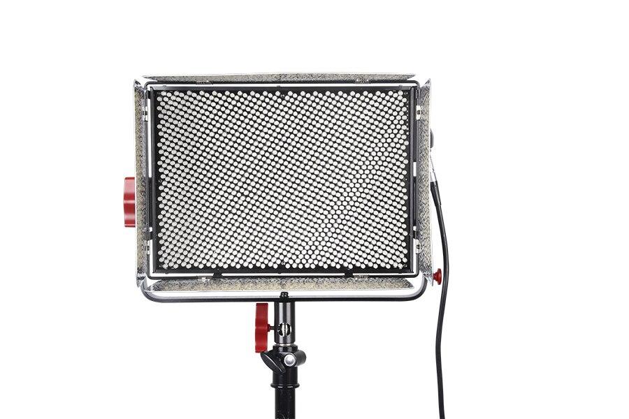 Aputure Light Storm LS 1C 1536 lamp Bi-Color LED Light Panel with Anton Bauer Plate,V-mount Plate Plus F-V Converter Adapter