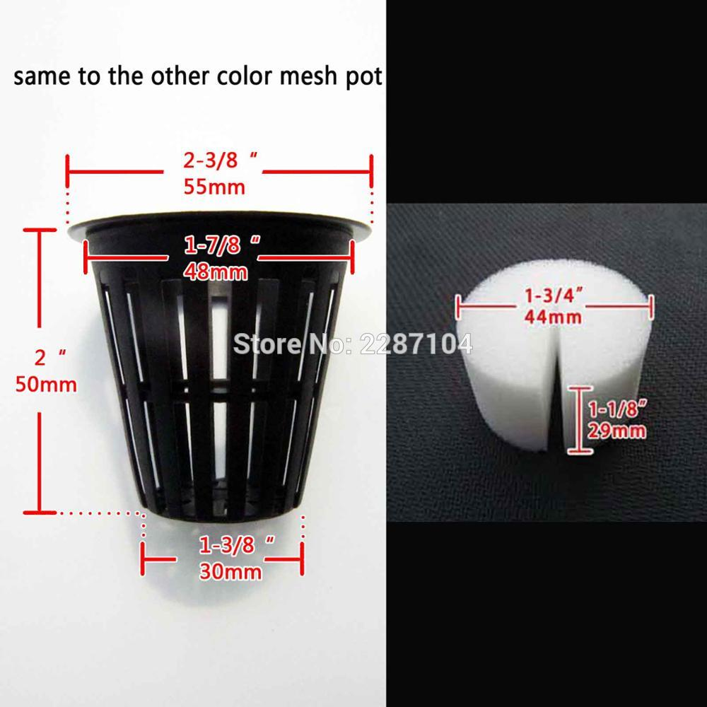 Hydroponic Clone System PVC Pipe Tube Bucket Hole Drill Bit Saw Mesh Net Pot Cup