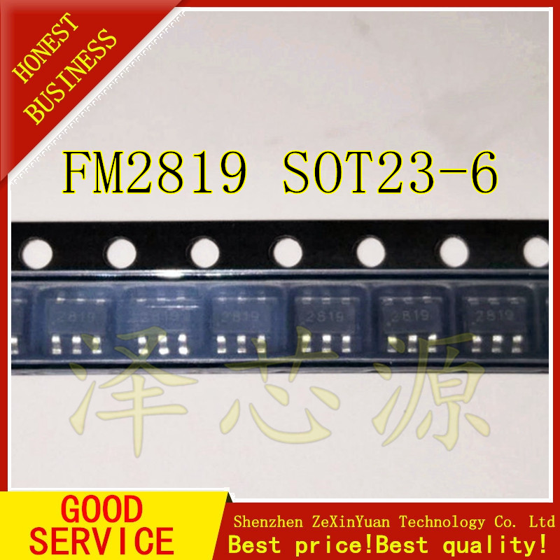 10 PCS FM2819 SOT23-610 PCS FM2819 SOT23-6