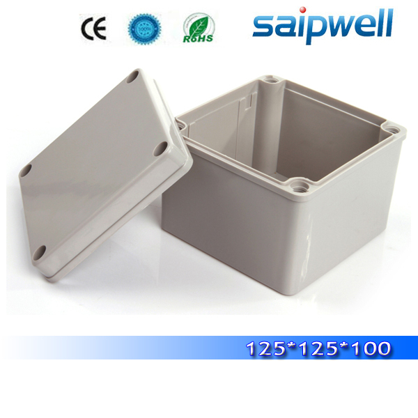 2014 best hot sale IP66 cheap small ABS plastic waterproof enslosures transparent enclosure  125*125*100mm High quality