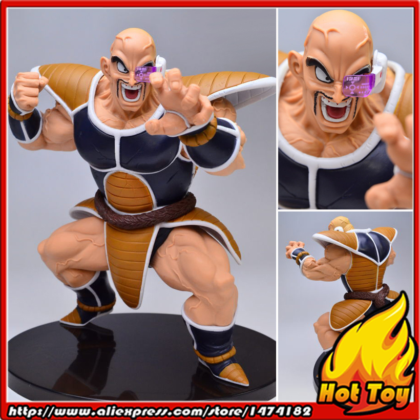 100% Original Banpresto Scultures BIG Zoukei Tenkaichi Budoukai 5 Vol.3 Collection Figure - Nappa from Dragon Ball Z original banpresto world collectable figure wcf the historical characters vol 3 full set of 6 pieces from dragon ball z