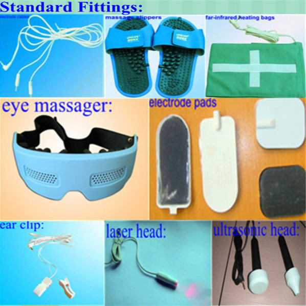 цена на new products best selling EA-VF29 body massage equipment laser therapy  ultrasound therapy machines with eye care