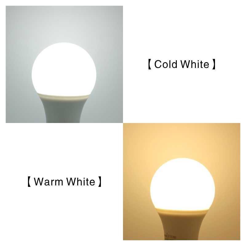 10 Buah/Banyak E27 E14 Lampu Bohlam LED 3W 6W 9W 12W 15W 18W 20W Lampada LED Light Bulb AC 220V-240V Bombilla Lampu Sorot Dingin/Hangat Putih