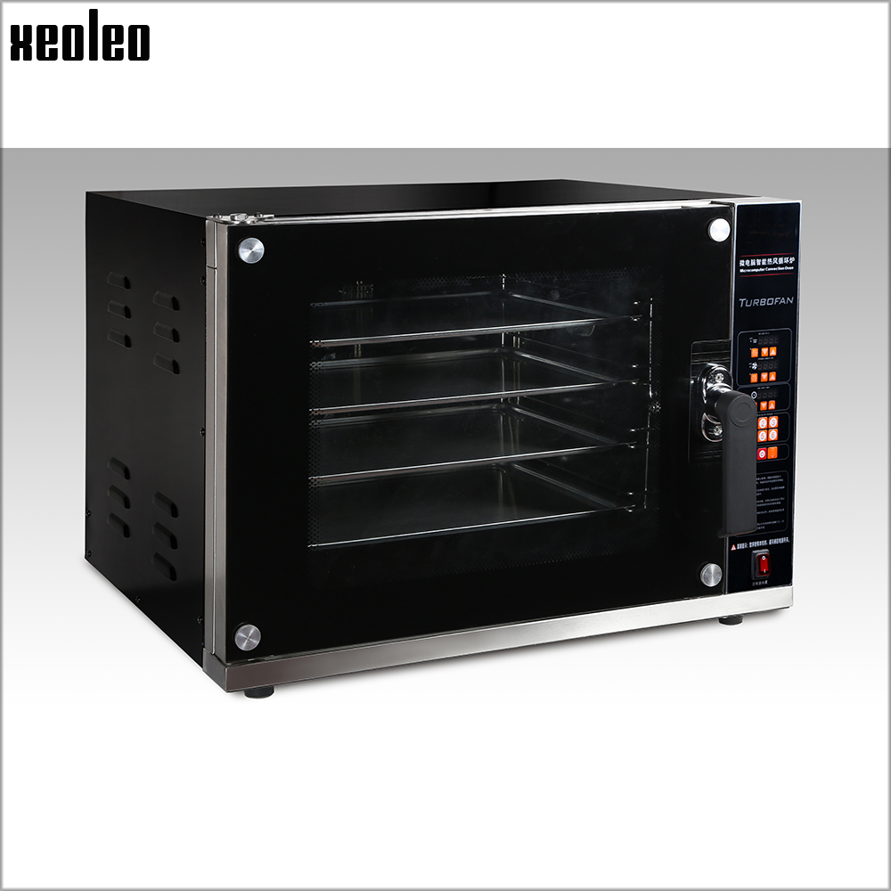 XEOLEO Electric baking oven Convection oven Pizza/Bread oven machine Commercial 4 layer Bakery ovens with Spray Function 6000W