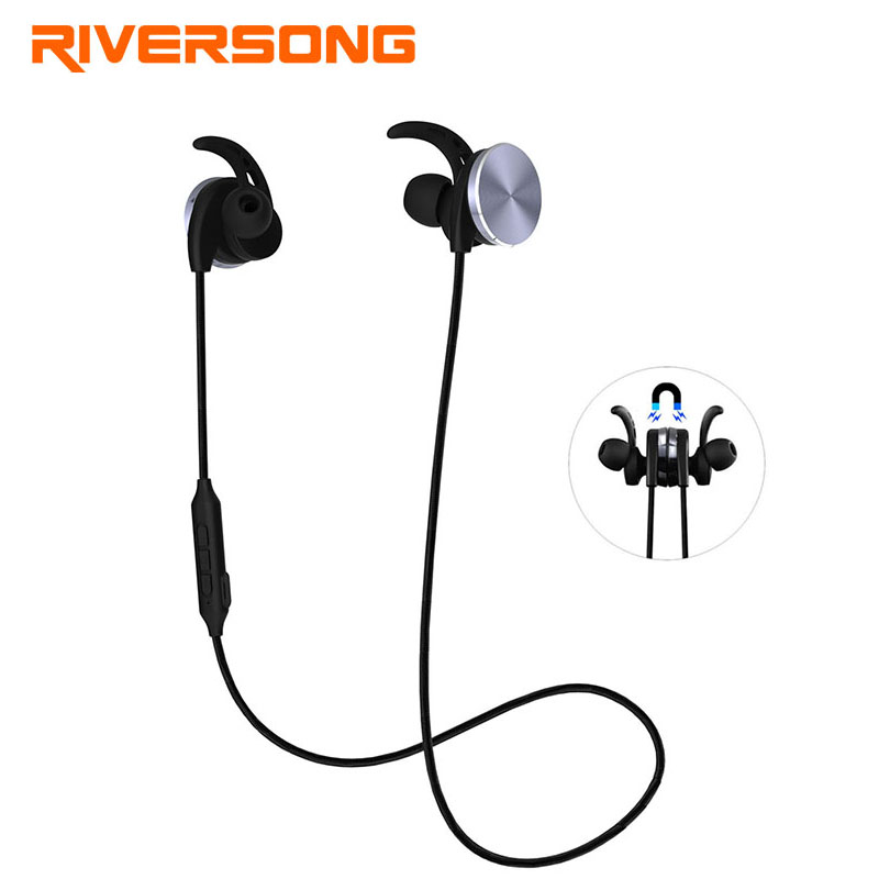 Riversong Bluetooth Earphone Mini in Ear Sport Headphones Stereo Headset Wireless Earphones Bluetooth Earpiece Earbuds For Phone