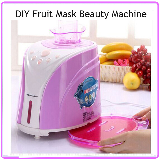 New Technology Electronic Skin Care Beauty Device Natural Fruit Collagen Beauty Mask Machine Free Shipping