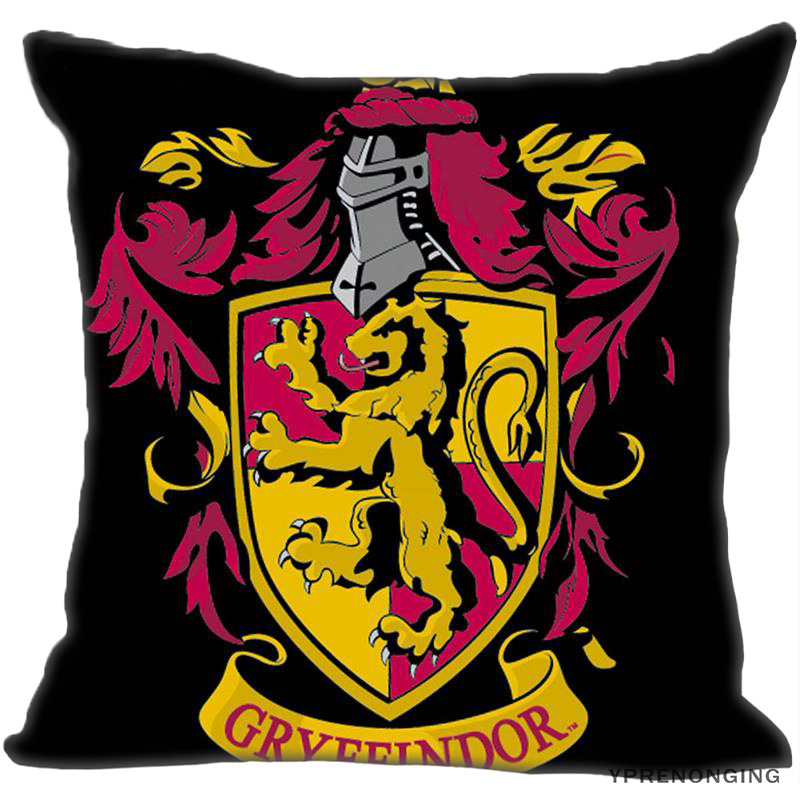 Best Custom Harry Potter Hufflepuff_ (1)@ Pillow Case Bedroom Home Square Zipper Pillowcases (One Side) #190404-01-142