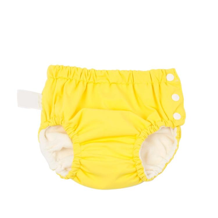 Baby Girls Swimsuit Yellow Washable waterproof