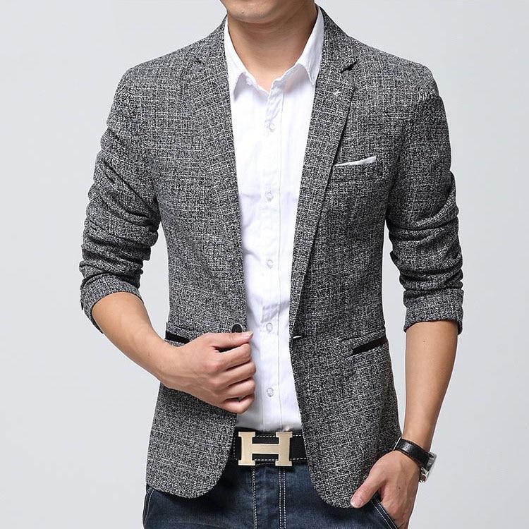 Online Get Cheap Linen Blazer Men -Aliexpress.com | Alibaba Group