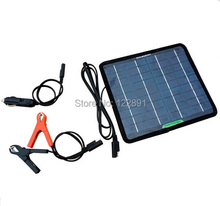 BUHESHUI 5W 18V Portable Solar Panel Charger For 12V  Battery Car Boat Motor  Car Charger  Free Shipping