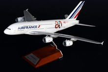 Fine JC WINGS 1/200 French Airways Airbus A380 aircraft 80th anniversary painting XX2450 Collection model Holiday gifts