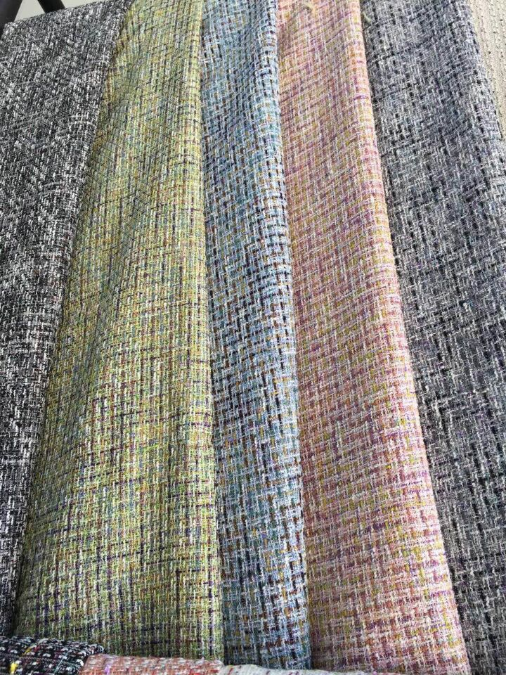 free ship tweed fabric colorful line weaved 5 colors for choice pattern price for 1meter 150cm widefree ship tweed fabric colorful line weaved 5 colors for choice pattern price for 1meter 150cm wide