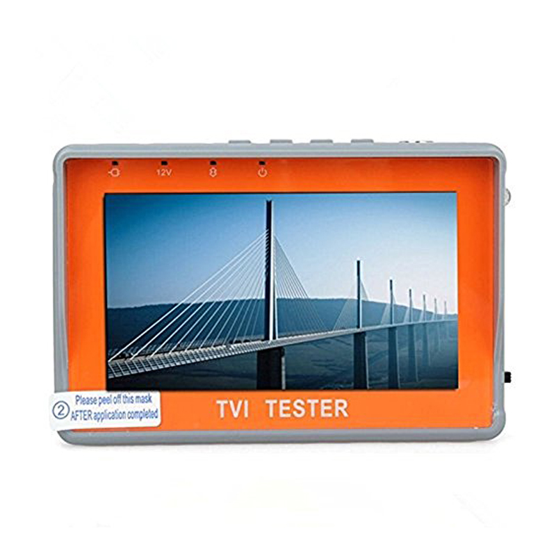 Portable Wrist 4.3''Display TVI HD Monitor Tester CCTV HD-TVI Camera Tester 960P 1080P Analog Video Camera Audio Test 12V-Out 3 5 inch tft led audio video security tester cctv camera monitor