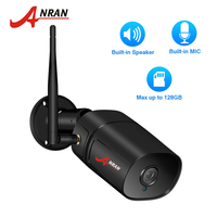 ANRAN 1080P Wifi IP Camera HD Outdoor Weatherproof Infrared Night Vision Security Camera Two Way Audio Video Surveillance Cam