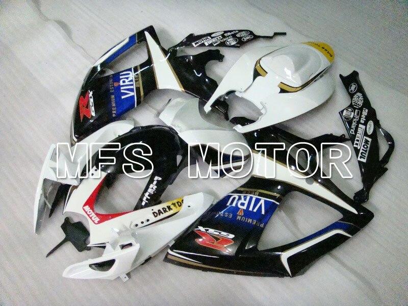 Для Suzuki системы GSX-Р 600/750 2006-2007 К6 инъекции ABS обтекатель - Виру - белый/черный