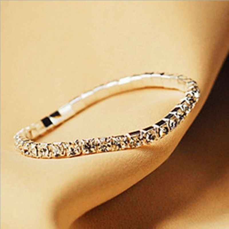 Fashion Hotsale Wholesale Crystal Stretch Bracelets Bangles Bracelets Jewelry,New Fashion