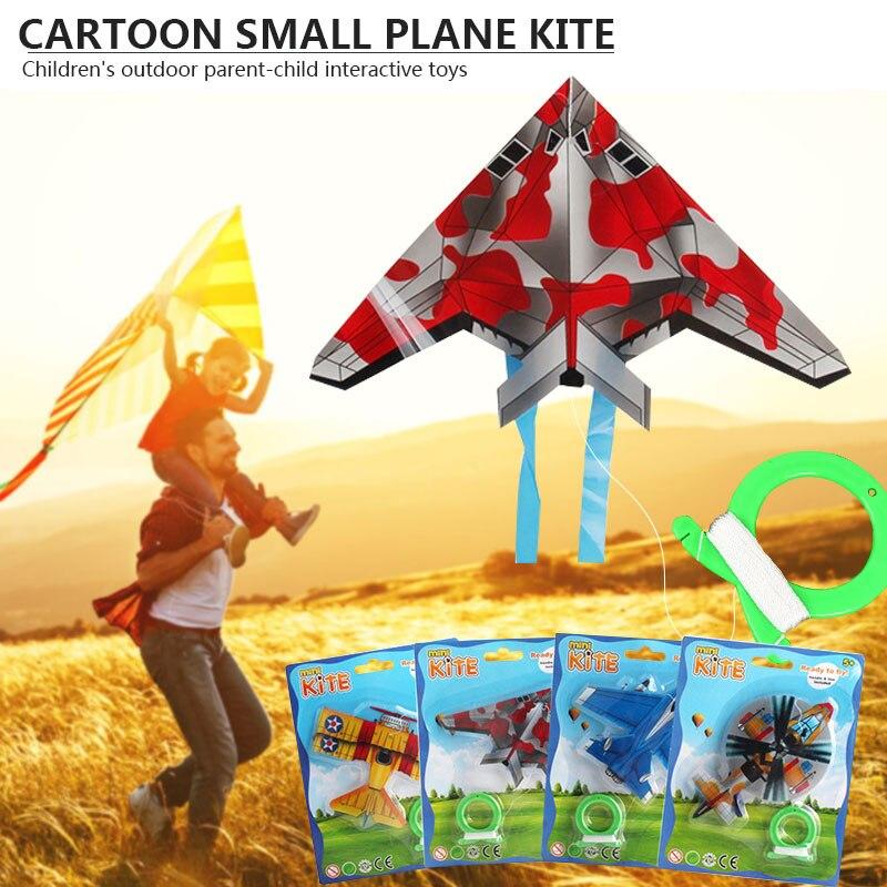 Мини воздушные листовые змеи с самолета летающие игрушки для детей на открытом воздухе спортивный змей игрушки для детей Интерактивные игрушки с принтом «бабочка»