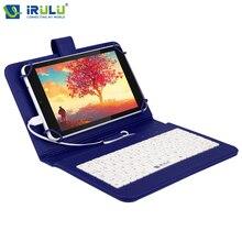 Irulu expro x4 7 «android 5.1 таблетки 1280*800 ips quad core 1 Г RAM 16 Г ROM Dual Фотоаппараты Bluetooth Wi-Fi 4000 мАч w/RU Клавиатура