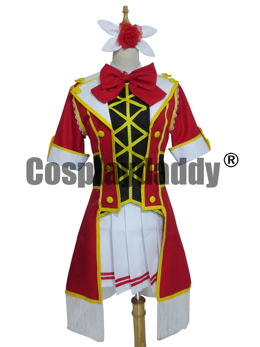 Love Live Kousaka Honoka Life Girls Party Dress Suit Cosplay Costume X006