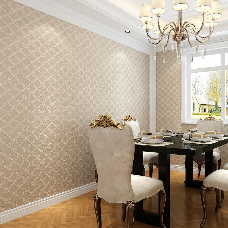 Modern Trellis Wallpaper: Modern Simple Trellis Geometric Wallpaper Woven Plain