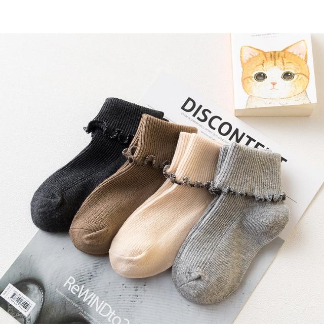 1ba59da3dbae5 US $11.99 |4pairs/lot Kids cute organic cotton socks bulk cotton baby  gripper solid color girl socks-in Socks from Mother & Kids on  Aliexpress.com | ...