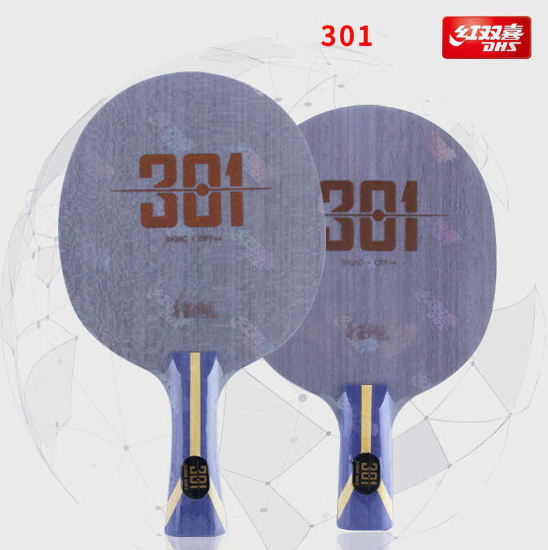 Original New Arrival DHS Hurricane 301 Arylate Carbon Table Tennis Blade/ Ping Pong Blade/ Table Tennis Bat Free Edge Tape