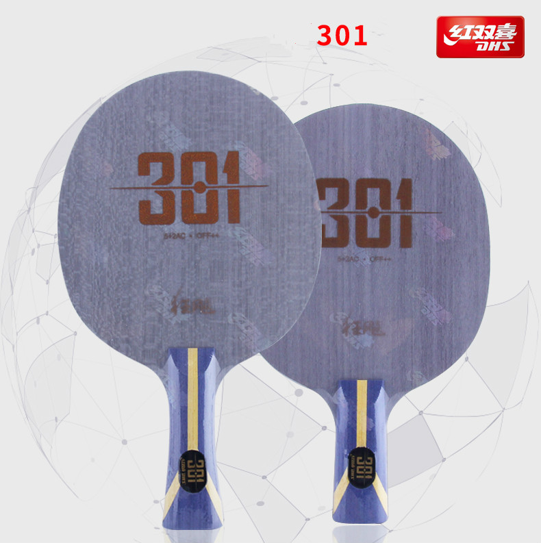 Original New Arrival DHS Hurricane 301 Arylate Carbon Table Tennis Blade/ Ping Pong Blade/ Table Tennis Bat Free Edge Tape-in Table Tennis Rackets from Sports & Entertainment    1
