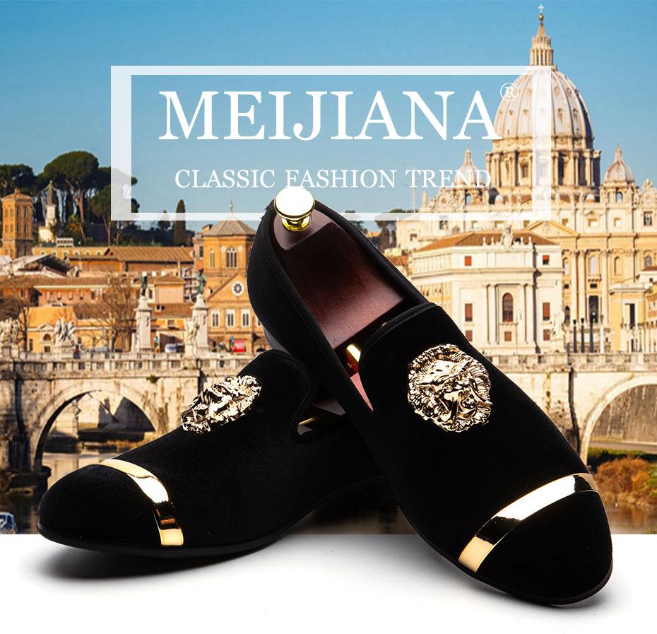 HTB1l5R0X.jrK1RkHFNRq6ySvpXak MEIJIANA New Big Size Men's Loafers Slip on Men Leather Shoes Luxury Casual Fashion Trend Brand Men's Shoes Wedding Shoes